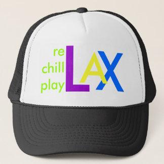 X, A, L, rechillplay Trucker Hat