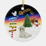 X algodón de Tulear de las muestras del Mas Ornamentos De Reyes Magos
