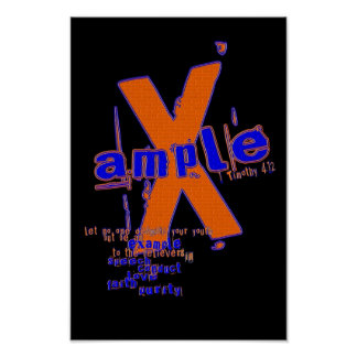 X-ample Poster