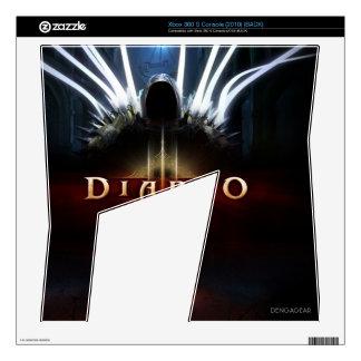 X-Box 360 (Diablo Skin) Xbox 360 S Console Skins
