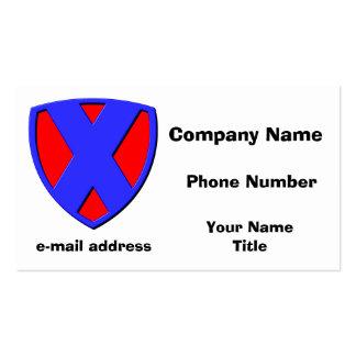 X BUSINESS CARD TEMPLATES
