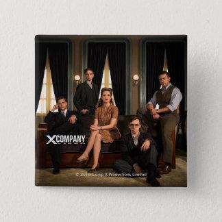 X Company Cast Photo Button