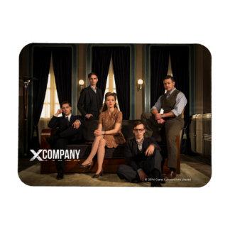 X Company Cast Photo Magnet