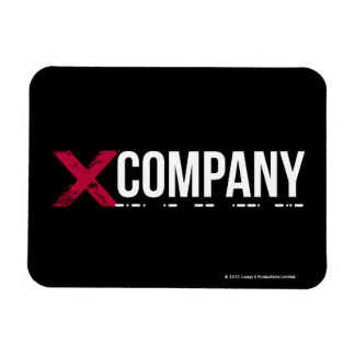 X Company Logo Magnet