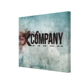 X Company Map Canvas Print