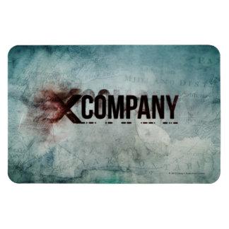 X Company Map Magnet