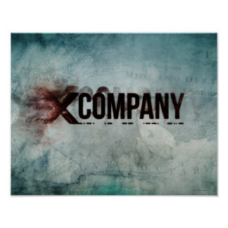 X Company Map Poster