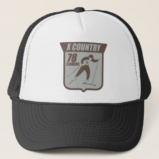 X Country Trucker Hat