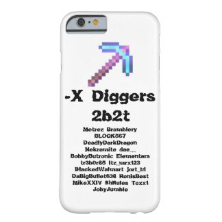 -X Digger iPhone 6/6s Case
