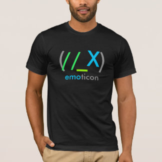(//_X)emoticon T-Shirt