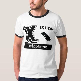 X está para el xilófono playera