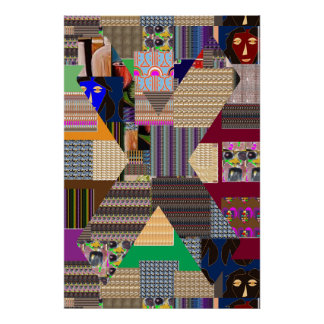 X factor PATCHUP ART navinJOSHI NVN139 Poster