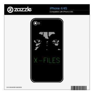X Files  iphone Case iPhone 4 Skin