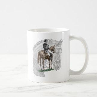X-Halt Salute Dressage Horse Coffee Mug