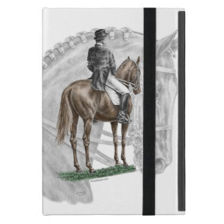 X-Halt Salute Dressage Horse iPad Mini Cases