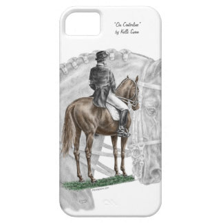 X-Halt Salute Dressage Horse iPhone SE/5/5s Case