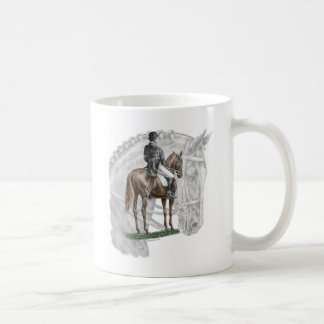 X-Halt Salute Dressage Horse Mug