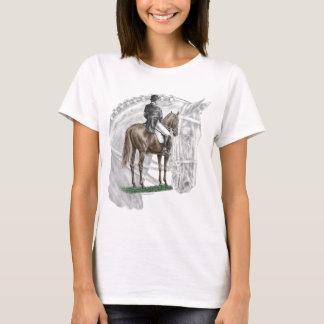 X-Halt Salute Dressage Horse T-Shirt