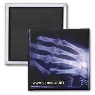 X-Hand 2 Inch Square Magnet