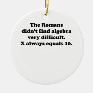 X iguala siempre 10 adorno para reyes