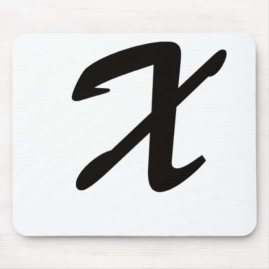 X is For eXtraordinary Mouse Pad