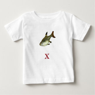 X is for X-Ray Fish Baby T-Shirt