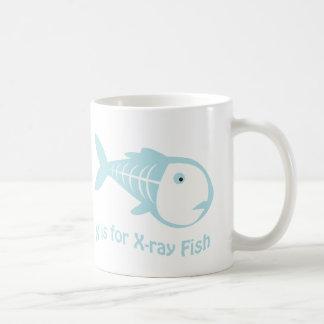 X is for X-Ray Fish Coffee Mug