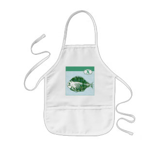X is for X-Ray Fish Kids' Apron
