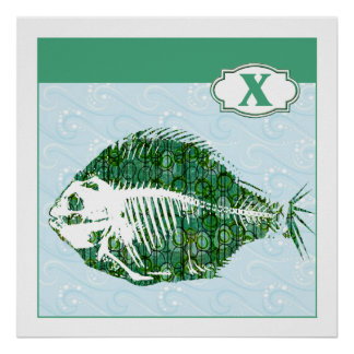 X is for X-Ray Fish Posters