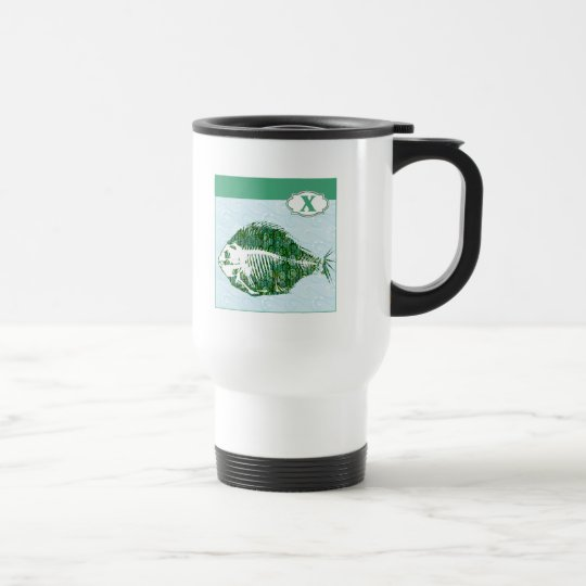 X is for X-Ray Fish Travel Mug