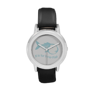X is for X-Ray Fish Wristwatches