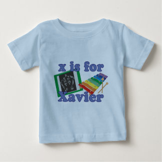 X is for Xavier Baby T-Shirt