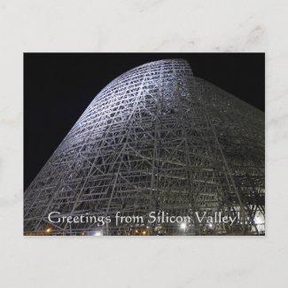 X.ITINERARIES: Hangar One Postcard