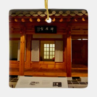 X.ITINERARIES: Sarangbang Ceramic Ornament