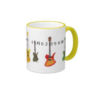 X japan hide' S guitar Ringer Coffee Mug