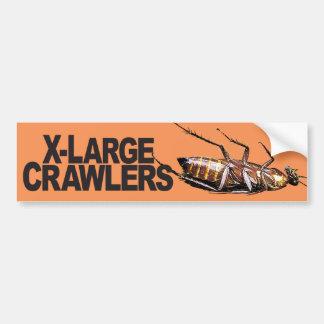 X-Large Crawlers - Bumper Sticker