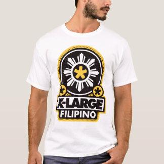 X-Large Filipino - Black T-Shirt