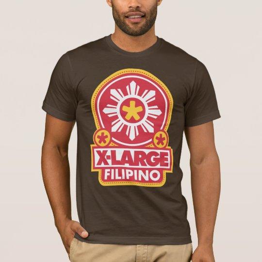 X-Large Filipino - Red T-Shirt