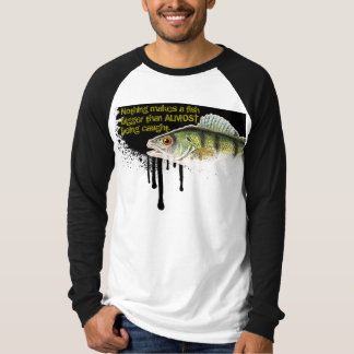 X-Large Fish design on a black dripping background T-Shirt