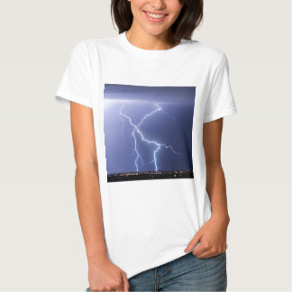 X Lightning Bolts In The Sky Bolts Shirt