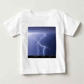X Lightning Bolts In The Sky Bolts Tee Shirt
