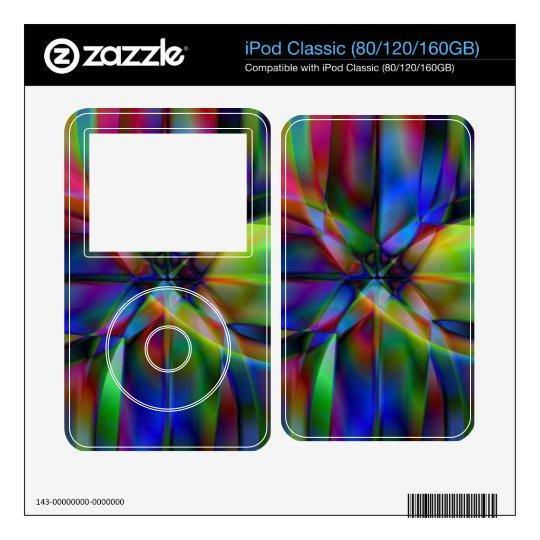 X marcas el punto skin para el iPod