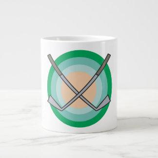 X marcas el punto taza de café grande