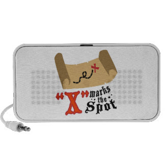 X Marks Spot Speaker System