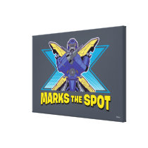 X Marks the Spot Canvas Print