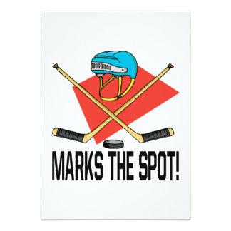 X Marks The Spot 5x7 Paper Invitation Card