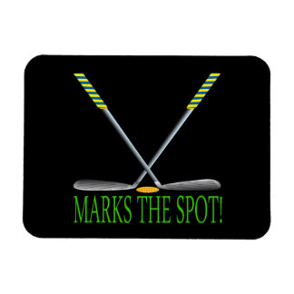 X Marks The Spot Magnet
