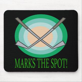 X Marks The Spot Mousepad