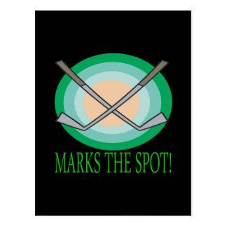 X Marks The Spot Postcard