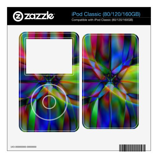 X Marks The Spot Skin For The iPod Classic